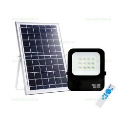 Proiector LED 30W Slim cu Panou Solar si Telecomanda