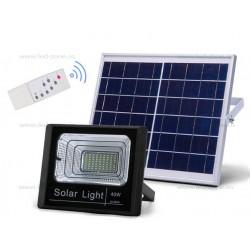 Proiector LED 40W cu Panou Solar si Telecomanda