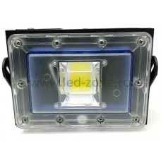Proiector LED 50W 220V Slim Negru New Design