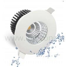 Spot LED 6W COB Rotund Alb Waterproof