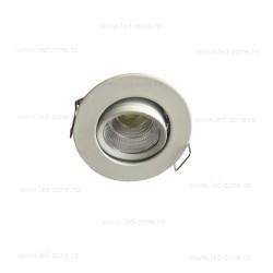 Spot LED 3W Mini COB Rotund Mobil Alb