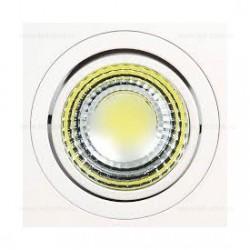 Spot LED 5W COB Patrat Mobil Alb Adriana