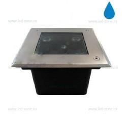 Spot LED Exterior Incastrabil 5x1W Patrat 220V
