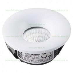 Spot LED 3W COB Rotund Alb LZBI