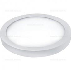 Panou LED 40W Diametru 50cm Aplicat Alb