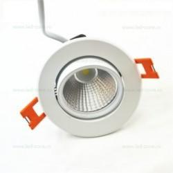Spot LED 6W COB Rotund Mobil Alb