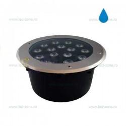 Spot LED Exterior Incastrabil 15x1W Rotund 220V