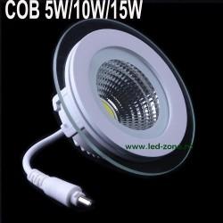 Spot LED 5W COB Rotund Sticla