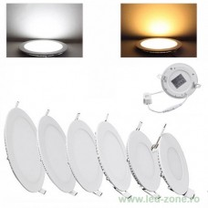 Spot LED 3W Slim Rotund Alb Natural