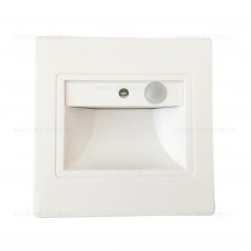 Spot LED 1.5W Patrat Alb Trepte Senzor