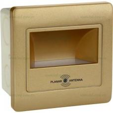 Spot LED 2W Patrat Trepte Senzor Microwave