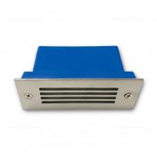 Spot LED Trepte 3x1W 220V Inox Grila LZ6006