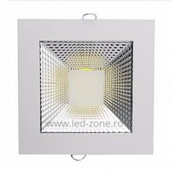 Spot LED 5W COB Patrat