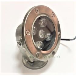 Spot LED Exterior 5x1W Rotund 220V