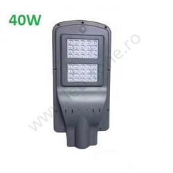 Lampa LED Iluminat Stradal 40W Solara cu Senzor Miscare