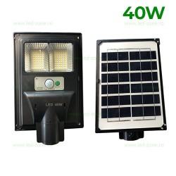 Lampa LED Iluminat Stradal 40W Solara Senzor 2 Module