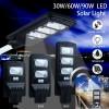 Lampa LED Iluminat Stradal 30W 48xSMD Solara cu Senzor Miscare