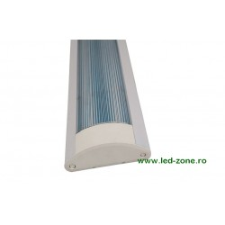 Corp Iluminat LED 2x9W 60cm Dispersor Clar