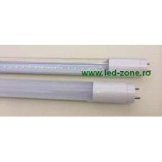 Tub LED T8 Clar 120cm 18W 360 grade Sticla