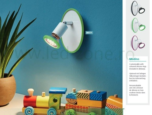 lustra led camera copii 4 spoturi lz94173 led zone magazin online. Black Bedroom Furniture Sets. Home Design Ideas